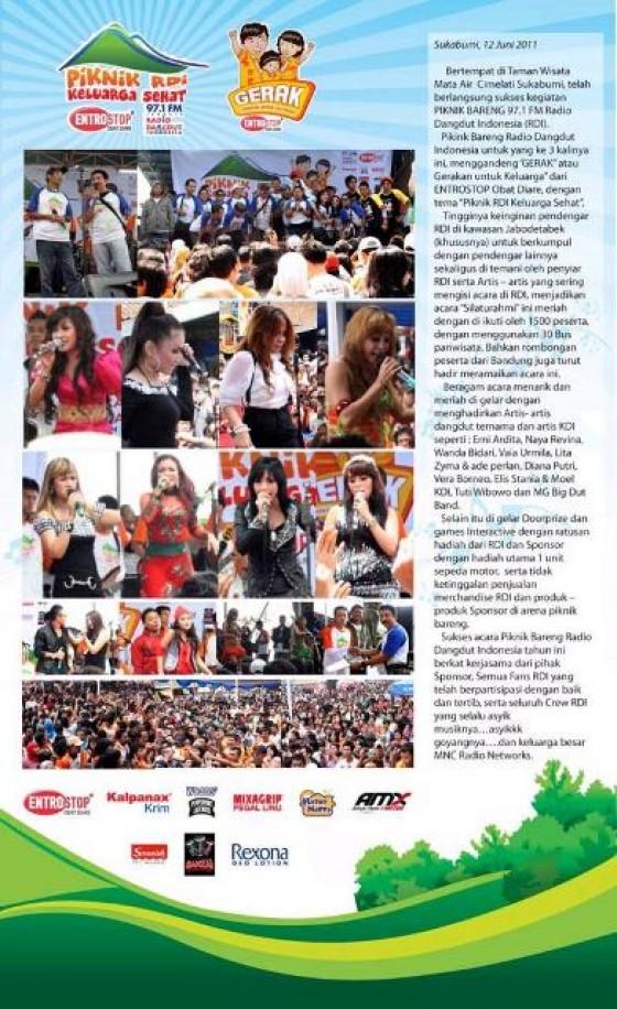 Piknik Bareng Radio Dangdut Indonesia